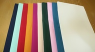 Pack of 10 Aasorted Plain Dyed Polycotton Pillow Cases