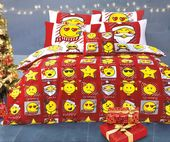 Expressions Christmas Reversible Duvet Cover Set