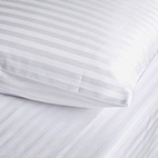 Fitted Sheets Satin Stripe T250