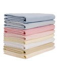 Pair of  Flannelette Fitted Cot Sheets