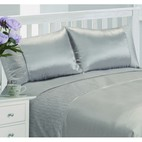 Serene Faux Silk Duvet Cover Set